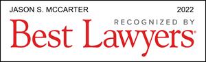 Best Lawyers 2022 Jason McCarter Commercial Litigation